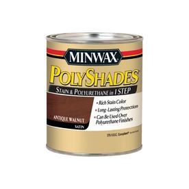 Minwax Polyshades 1-Quart Antique Walnut Oil Wood Stain