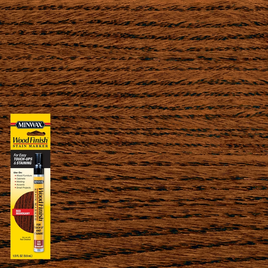 Shop Minwax Wood Finish Stain Marker Red Mahogany Stain Pen at Lowes ...