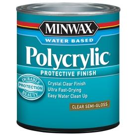 Minwax Polycrylic Semi-Gloss Polyurethane