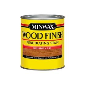 Minwax Wood Finish 32-fl oz Gunstock Oil-Based Interior Stain
