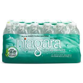 Niagara 24-Pack 16.9-fl oz Spring Water