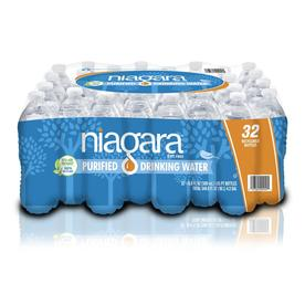 Niagara 32-Pack 16.9-fl oz Purified Water