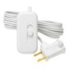 Lutron Credenza 1-Switch 100-Watt Single Pole White Indoor Slide Dimmer
