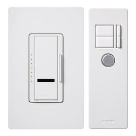 Lutron Maestro IR 5-Amp 600-Watt White 3-Way Digital Dimmer with Remote