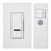 Lutron Maestro IR 5-Amp White Digital Dimmer with Remote
