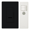 Lutron Maestro IR 5-Amp 600-Watt Black Digital Dimmer with Remote