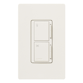 shop lutron maestro 3 way biscuit combination dimmer and. Black Bedroom Furniture Sets. Home Design Ideas