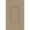 Lutron 8-Amp Maestro Mocha Stone Combination Decorator Light Switch