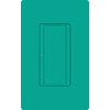 Lutron 8-Amp Maestro Turquoise Combination Decorator Light Switch