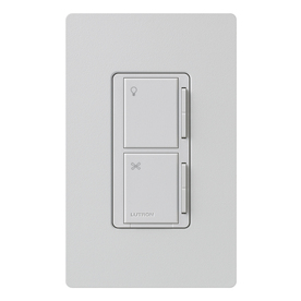 shop lutron maestro 3 way palladium combination dimmer and. Black Bedroom Furniture Sets. Home Design Ideas