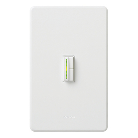 Lutron Abella 5-Amp White/Gloss Digital Dimmer
