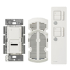 Lutron Maestro IR 300-Watt White 7-Speed Digital Combination Fan and Light control with Remote