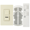 Lutron Maestro IR 2-Amp 300-Watt Off-White 3-Way Wireless Digital Combination Ceiling Fan and Light Control with Remote