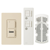 Lutron Maestro IR 1-Amp 300-Watt Off-White 3-Way Wireless Digital Combination Ceiling Fan and Light Control with Remote