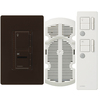 Lutron Maestro IR 2-Amp 300-Watt White 3-Way Wireless Digital Combination Ceiling Fan and Light Control with Remote