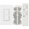 Lutron Maestro IR 3-Way Snow Combination Dimmer and Fan Control