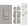 Lutron Maestro IR 3-Way Taupe Combination Dimmer and Fan Control