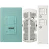 Lutron Maestro IR 3-Way Sea Glass Combination Dimmer and Fan Control