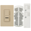 Lutron Maestro IR 3-Way Desert Stone Combination Dimmer and Fan Control
