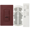 Lutron Maestro IR 3-Way Merlot Combination Dimmer and Fan Control