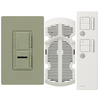Lutron Maestro IR 3-Way Greenbriar Combination Dimmer and Fan Control
