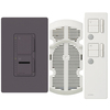 Lutron Maestro IR 3-Way Plum Combination Dimmer and Fan Control
