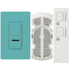 Lutron Maestro IR 3-Way Turquoise Combination Dimmer and Fan Control