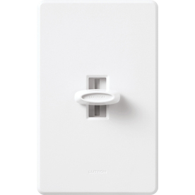 Lutron Glyder 5-Amp 600-Watt White Slide Ceiling Fan Control