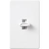 Lutron Glyder 5-Amp 600-Watt White Slide Fan Control