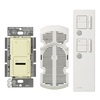 Lutron Maestro IR 300-Watt Almond 7-Speed Digital Combination Fan and Light control with Remote