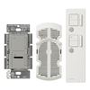 Lutron Maestro IR 2-Amp 300-Watt Gray Wireless Digital Combination Ceiling Fan and Light Control with Remote