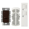 Lutron Maestro IR 2-Amp 300-Watt White Wireless Digital Combination Ceiling Fan and Light Control with Remote