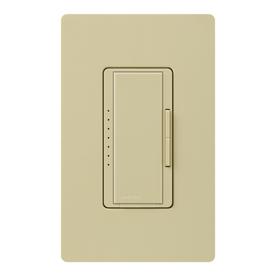 Lutron Maestro 5-Amp 600-Watt Ivory Digital Dimmer