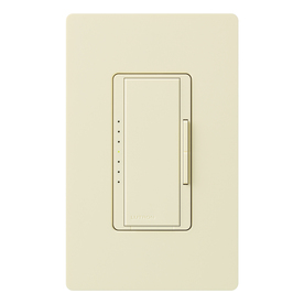 Lutron Maestro 5-Amp 600-Watt Almond Digital Dimmer