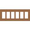 Lutron Claro 6-Gang Terra Cotta Six Decorator Wall Plate
