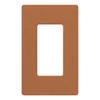 Lutron Claro 1-Gang Terra Cotta Single Decorator Wall Plate