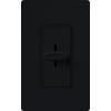 Lutron Skylark 5-Amp 600-Watt Black Slide Fan Control