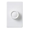 Lutron Rotary 1.5-Amp 180-Watt White Rotary Fan Control