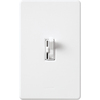 Lutron Ariadni 300-Watt White 3-Speed Slide Combination Ceiling Fan Control