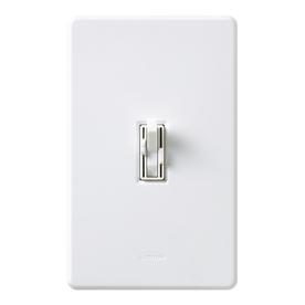 Lutron Ariadni/Toggler 1.5-Amp 300-Watt White Slide Combination Ceiling Fan and Light Control