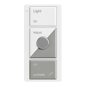 shop lutron maestro 600 watt white touch dimmer with remote at. Black Bedroom Furniture Sets. Home Design Ideas