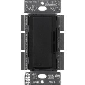 Lutron Maestro Satin 5-Amp 600-Watt Midnight Digital Dimmer