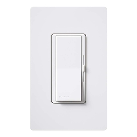 Lutron Diva 1.25-Amp 150-Watt White 3-Way CFL/LED Preset Dimmer