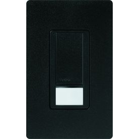 Lutron Maestro 1-Switch 2-Amp Single Pole Midnight Indoor Motion Occupancy/Vacancy Sensor