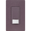 Lutron 2-Amp Maestro Plum Occupancy Decorator Light Switch