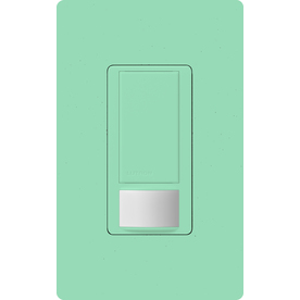 Lutron Maestro 1-Switch 2-Amp Single Pole Sea Glass Indoor Motion Occupancy/Vacancy Sensor