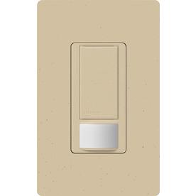 Lutron Maestro 1-Switch 2-Amp Single Pole Stone Indoor Motion Occupancy/Vacancy Sensor