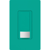 Lutron 2-Amp Maestro Turquoise Occupancy Decorator Light Switch