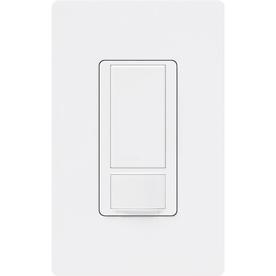 Lutron Maestro 1-Switch 2-Amp Single Pole White Indoor Motion Occupancy/Vacancy Sensor