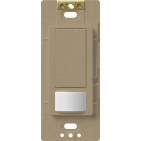 Lutron Maestro 1-Switch 5-Amp 3-Way Double Pole Mocha Stone Indoor Motion Occupancy/Vacancy Sensor